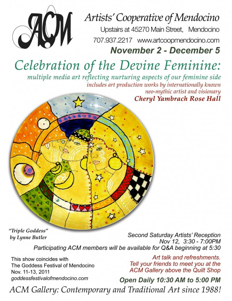 Celebration of the Divine Feminine Artisit Coop of Mendocino